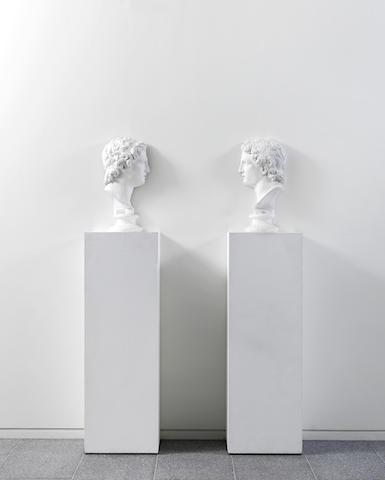 Giulio Paolini-Vis-a-Vis (Alessandro)-1992