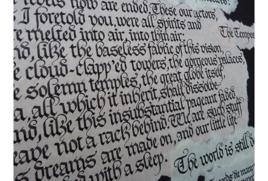 Gothic Calligraphy - Image via gixturnercom