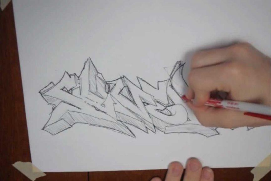 How to write my name in graffiti