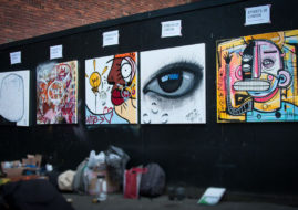 Graffitistreet Streets of London Charity Auction