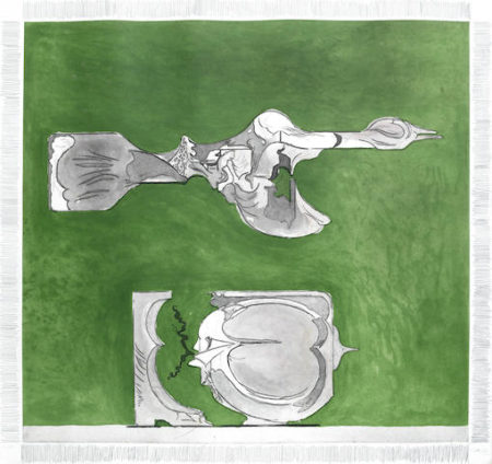 Graham Sutherland-Bird and Split Rock-1974
