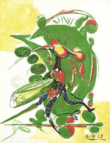 Graham Sutherland-Insect-1963