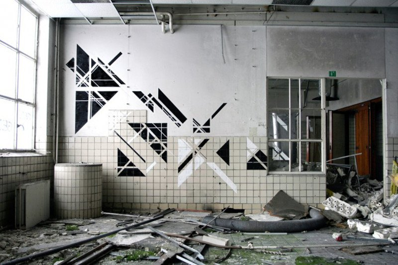 Graphic Surgery - Abandoned #7 - various locations, 2010-2015