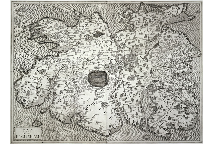 Grayson Perry - Map of an Englishman, 2004