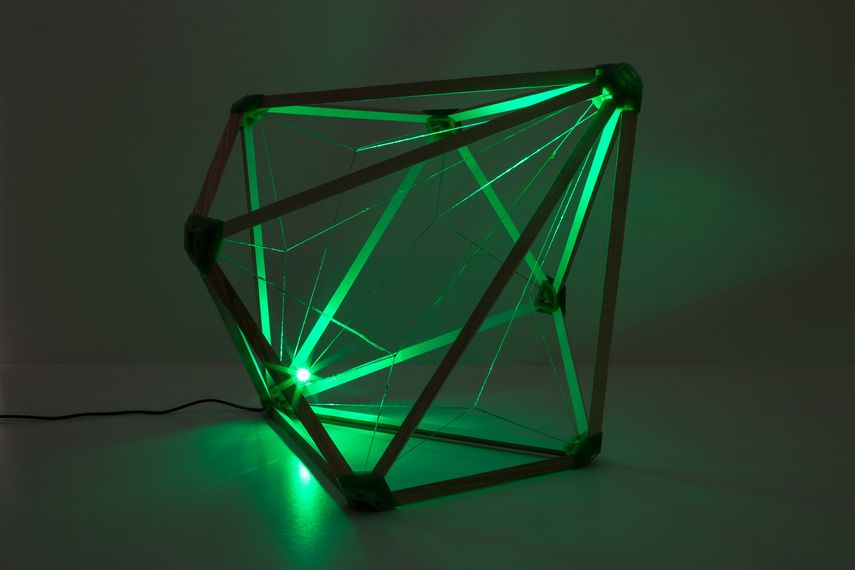 olafur eliasson presented the artistic lamp project in vienna in 2016 and promoted it on facebook twitter and instagram