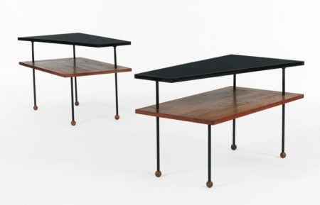 Greta Magnusson Grossman - Pair Of Side Tables-1952