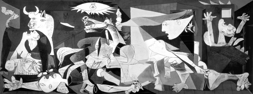 Pablo Picasso - Guernica, 1937 - image via jkrwebcom picasso pablo woman portrait works of picasso paintigs