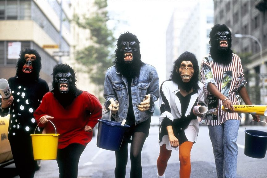 Guerrilla Girls use media as their tool