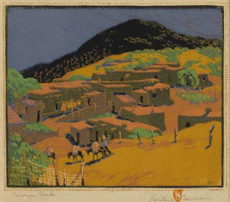 Gustave Baumann-Talaya Peak-1947