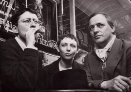 Guy Debord, Michèle Bernstein and Asgar Jorn - Image via random spikecom school