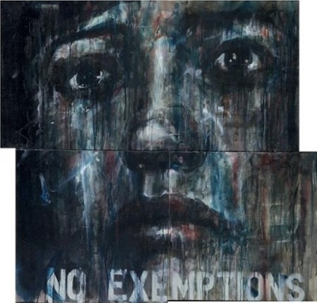 Guy Denning-No Exeptions (triptych)-2011