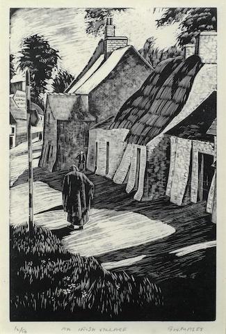 Guy Seymour Warre Malet-An Irish Village-