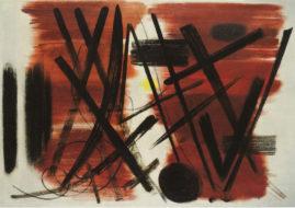 Hans Hartung, Patrick Heron Exhibition, Waddington Custot Galleries