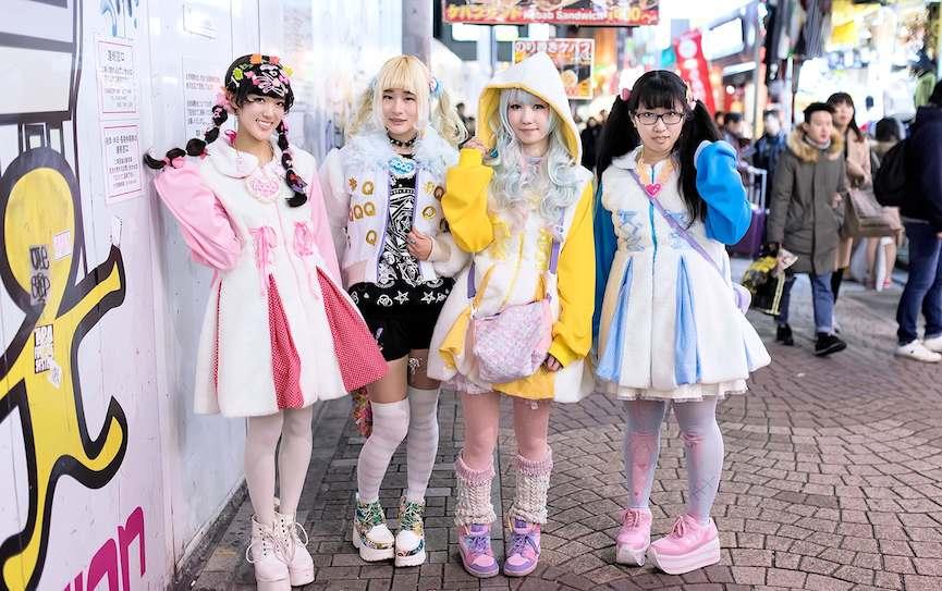Harajuku Girls - Kawaii Street Fashion via tokyofashion