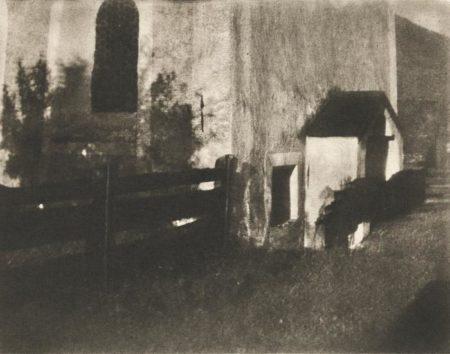 Heinrich Kuhn-Country Church-1910