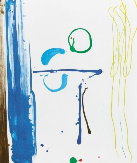 Helen Frankenthaler-Sunshine After Rain (Harrison 126)-1987