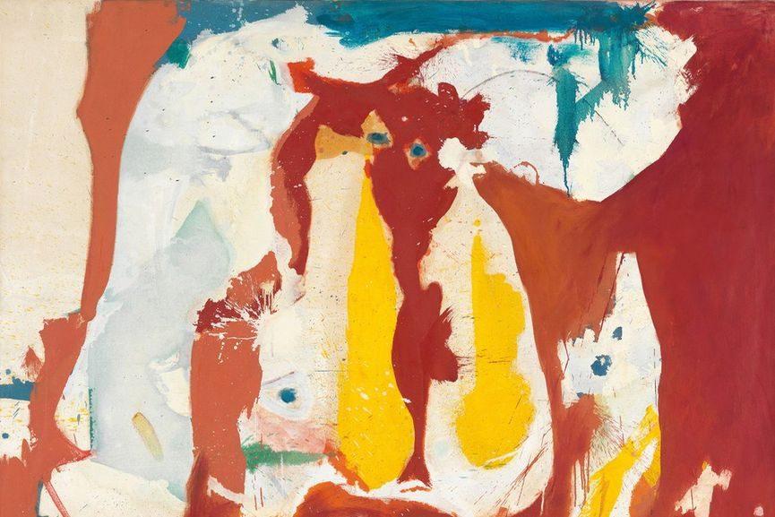 Helen Frankenthaler - The Red Sea, 1959 (detail)