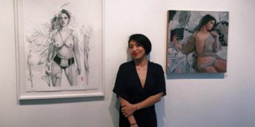 Helice Wen - Artist's portrait - Image via cocteldementecom