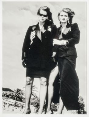 Helmut Newton-Yves Saint Laurent Fashion-1980