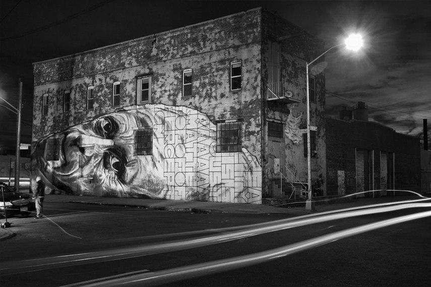 Hendrik Beikirch ecb Mural art graffiti paint people week