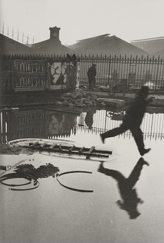 Henri Cartier-Bresson-Behind the Gare Saint Lazare, Paris-1932