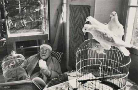 Henri Cartier-Bresson-Matisse Vence France-1944