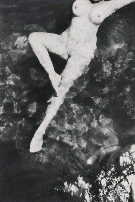 Henri Cartier-Bresson-Nude Italy (Leonor Fini)-1933