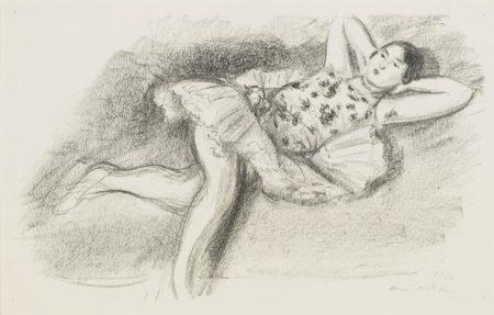 Henri Matisse-Danseuse Etendue Au Divan-1926