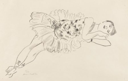 Henri Matisse-Danseuse etendue (Dancer Extended), from Dix Danseuses (Ten Dancers)-1927