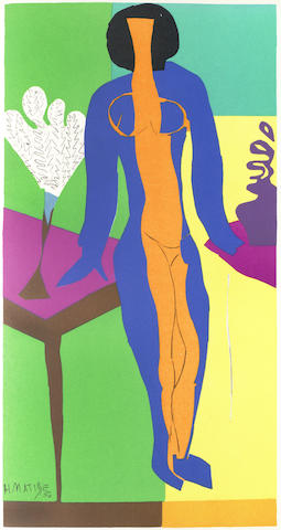 Henri Matisse-Dummy of Verve: Volume IX, 35 & 36. Last Works of Matisse 1950-54. vol-1958