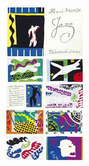 Henri Matisse-After Henri Matisse - Jazz-1947