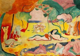 Henri Matisse - Joy of Life. Image via hemrimatisse.org