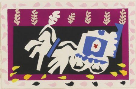 Henri Matisse-L'Enterrement De Pierrot-1947