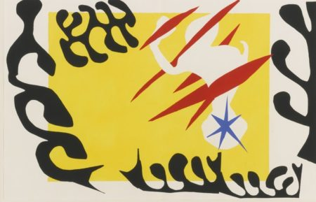 Henri Matisse-Le Cauchemar De L'Elephant Blanc-1947