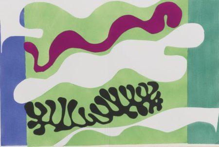 Henri Matisse-Le Lagon-1947