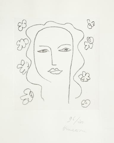 Henri Matisse-Madeleine - Etude-1950