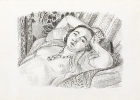 Henri Matisse-Odalisque au Collier-1923