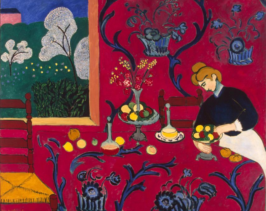 Henri Matisse - Red Room (Harmony in Red), 1908