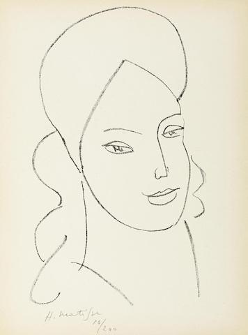 Henri Matisse-Saint Catherine-1946