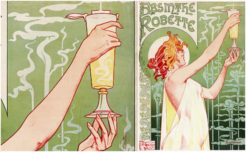 Henri Privat-Livemont - Absinthe Robette, 1896