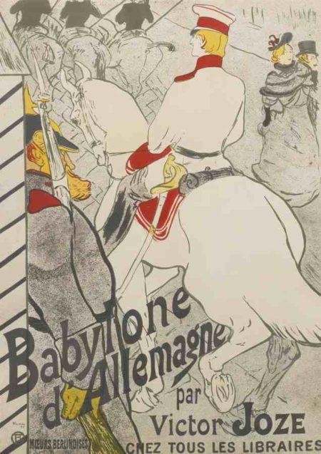 Henri de Toulouse-Lautrec-Babylon D'Allemagne-1894