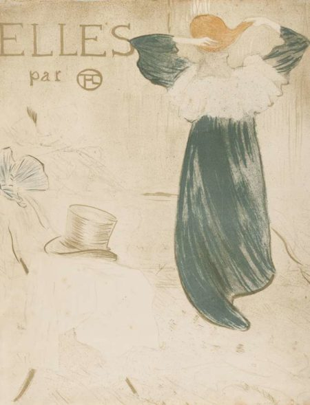 Henri de Toulouse-Lautrec-Elles (Frontispiece)-1896