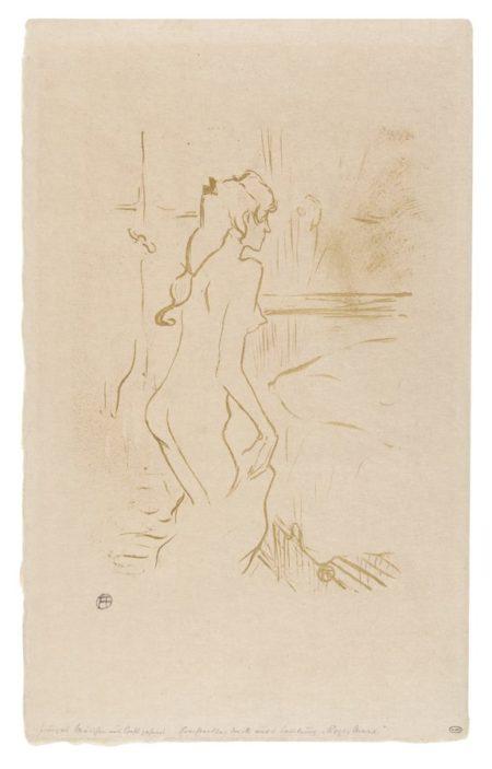 Henri de Toulouse-Lautrec-Etude De Femme-1893