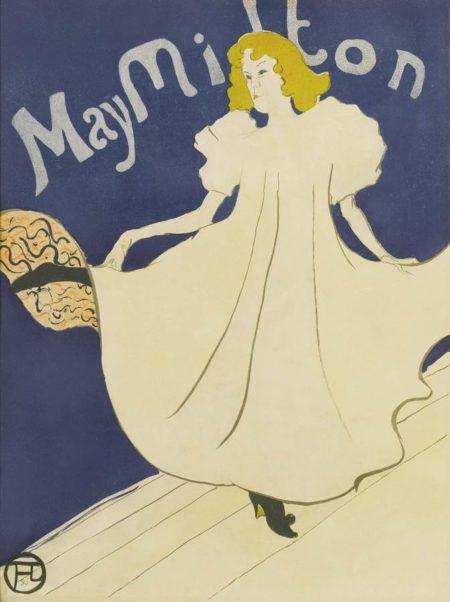Henri de Toulouse-Lautrec-May Milton-1895