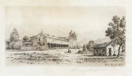 Henry Chapman Ford-Mission Santa Barbara-1888