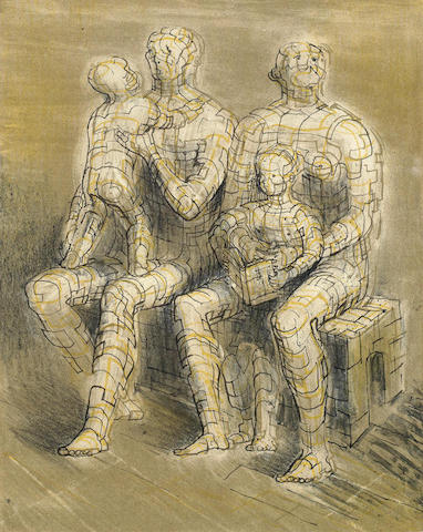 Henry Moore-Family Group-1950