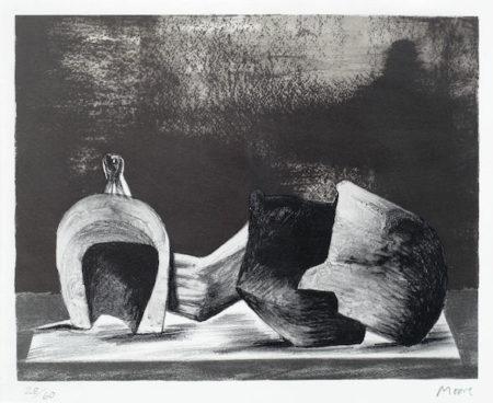 Reclining Figure Interior Setting II-1977