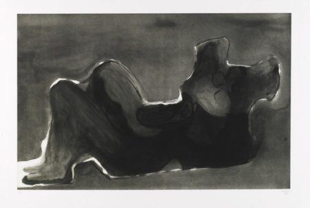 Henry Moore-Reclining Figure Terra Cotta-1980