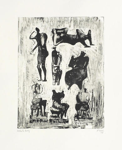 Henry Moore-Seven Sculptural Ideas-1973