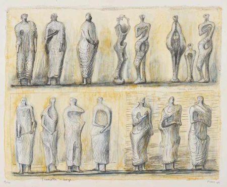 Henry Moore-Standing Figures-1949